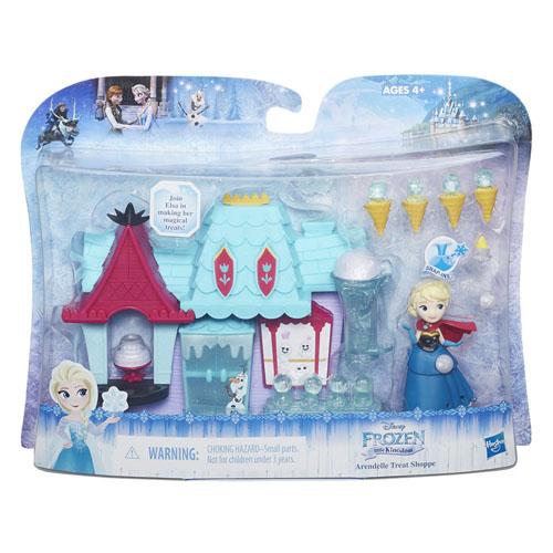 Hrací sada Hasbro Pro malé panenky Frozen - Elza a její hrad