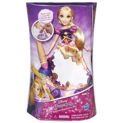 Panenka Disney Hasbro Locika s vybarvovací sukní