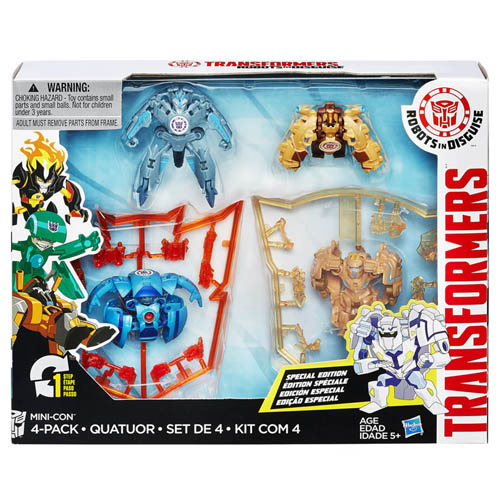 Transformers Mini-Con Hasbro 4 ks