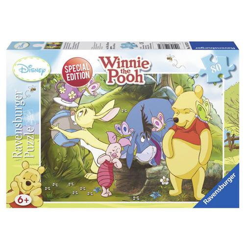 Puzzle Ravensburger Veselý den s Winnie, 80 dílků