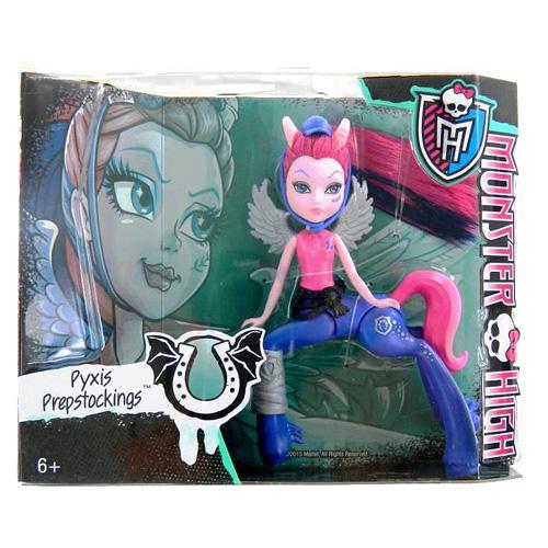 Monster High příšerka Mattel Pyxis Prepstockings - kentaurka