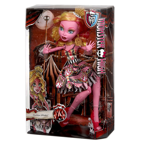 Monster High příšerka Mattel Gooliope Jellington