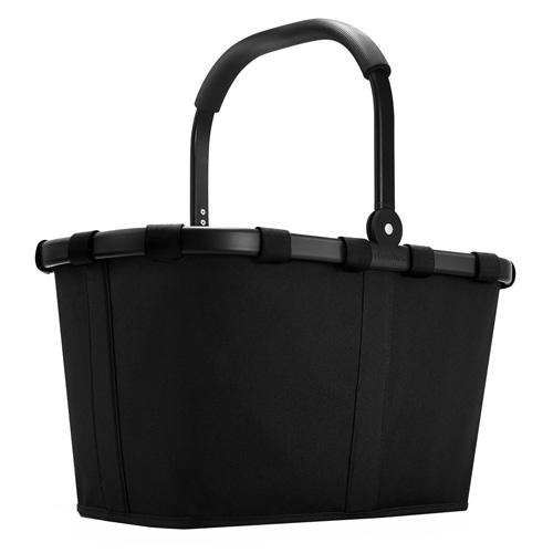 Nákupní košík Reisenthel Černý s černým rámem | carrybag
