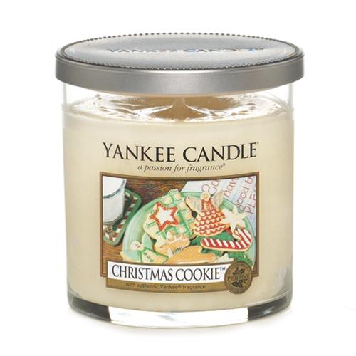 Svíčka ve skleněném válci Yankee Candle Vánoční cukroví, 198 g