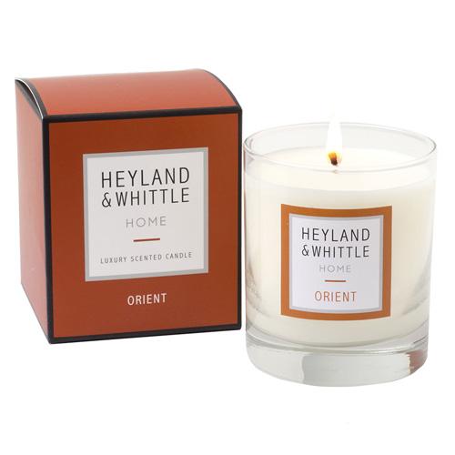 Svíčka skleněná váza Heyland & Whittle Orient, 220 g