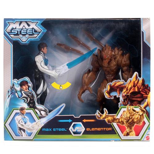 Figurky Max Steel Mattel 2 ks - Max Steel a Elementor