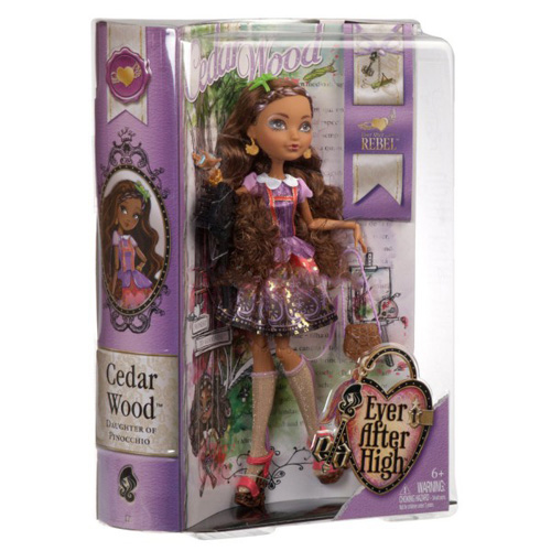 Ever After High Rebelové Mattel Cedar - dcera Pinocchia