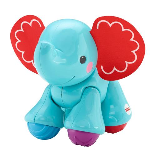 Klapající kamarád Mattel Modrý slon