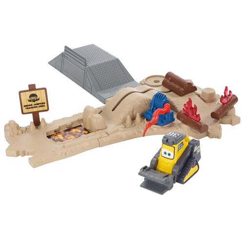 Požární trénink Mattel Drip - set s bagrem