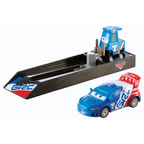 Cars vystřelovač Mattel s autíčkem