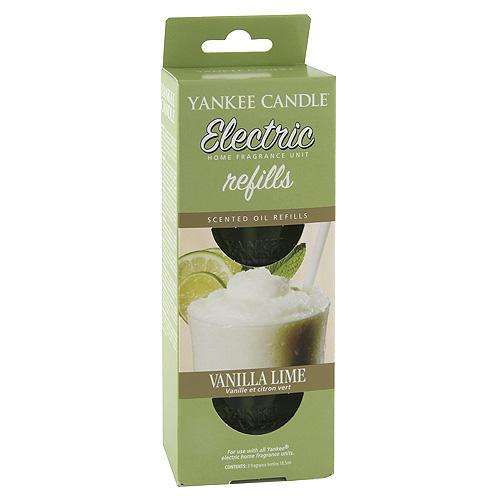 Náplně do osvěžovače Yankee Candle Vanilka s limetkou, 2x18.5 ml