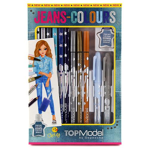 Kreativní sada Top Model Christy - pro úpravu džínsů