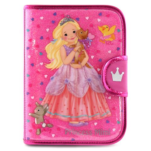 Pouzdro My Style Princess Růžové - s blokem, pastelkami a doplňky