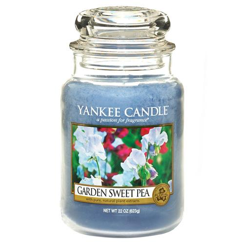 Svíčka ve skleněné dóze Yankee Candle Květy ze zahrádky, 623 g