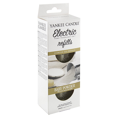 Náplně do osvěžovače Yankee Candle Dětský pudr, 2x18.5 ml