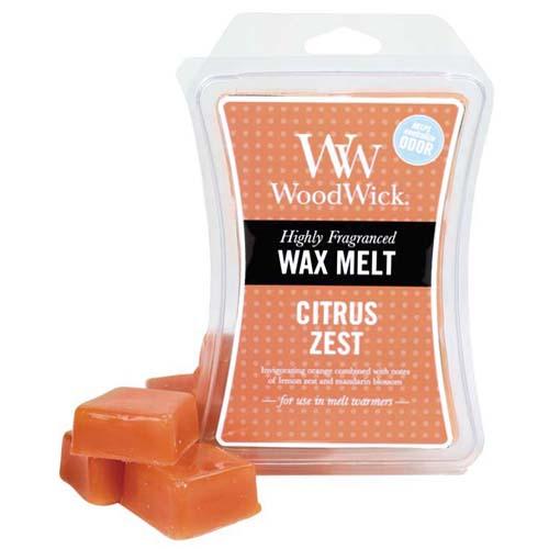 Vonný vosk WoodWick Citrusy, 85 g