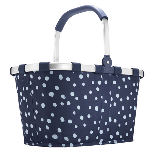 Nákupní košík Reisenthel Modrý s bílými puntíky, carrybag