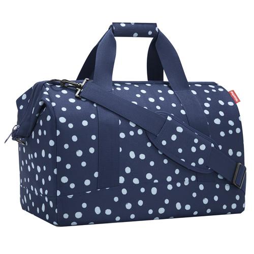 Taška cestovní Reisenthel Modrá s puntíky, velikost L