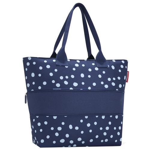 Nákupní taška Reisenthel Modrá s puntíky, shoper e1