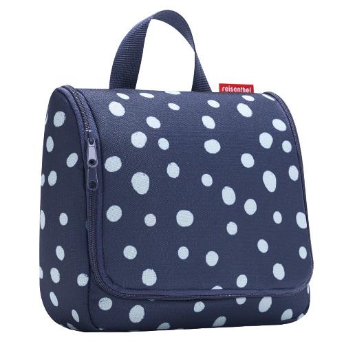 Cestovní toaletní taška Reisenthel Modrá s puntíky, toiletbag