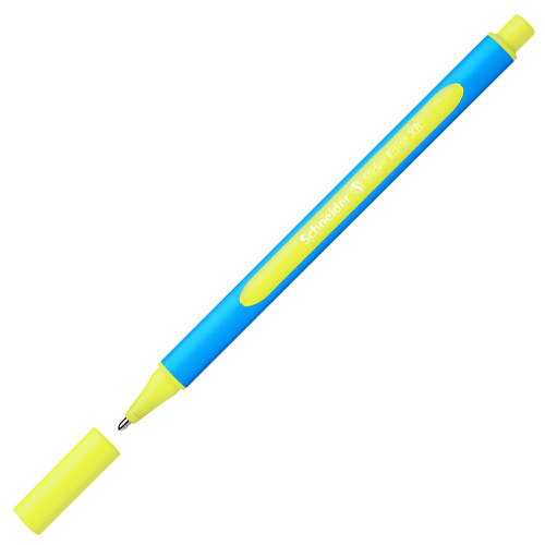 Schneider BALLPOINT PEN SLIDER EDGE XB YELLOW Writing Instruments and Correction Products