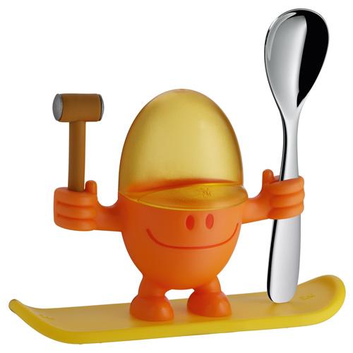 Kalíšek na vajíčko WMF Výška 11 cm - McEgg, oranžová