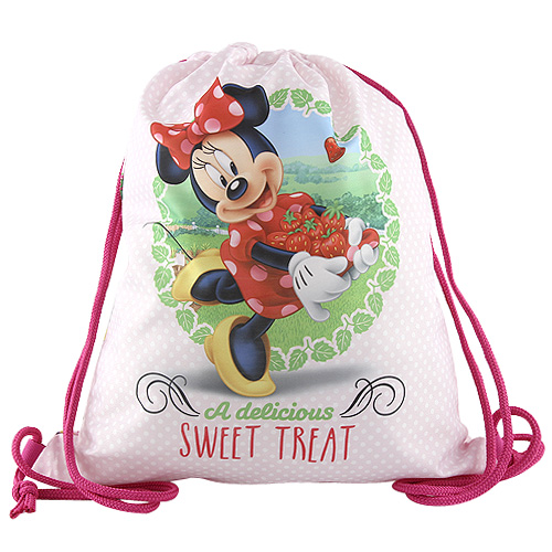 Disney Sportovní vak Target Minnie, barva růžová