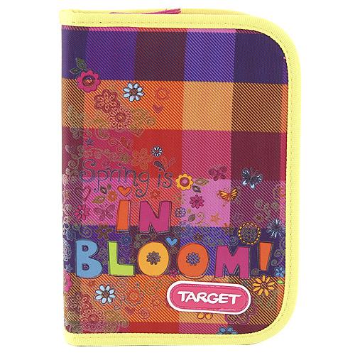 Školní penál s náplní Target In Bloom - barevné kostky