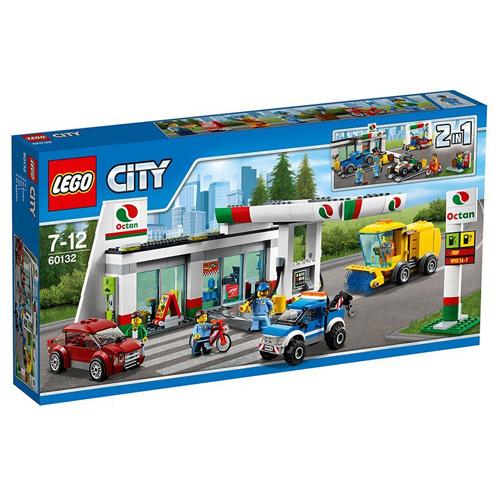 Stavebnice LEGO City Benzínová stanice, 515 dílků