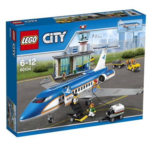 Stavebnice Lego City Letiště - terminál, 694 dílků