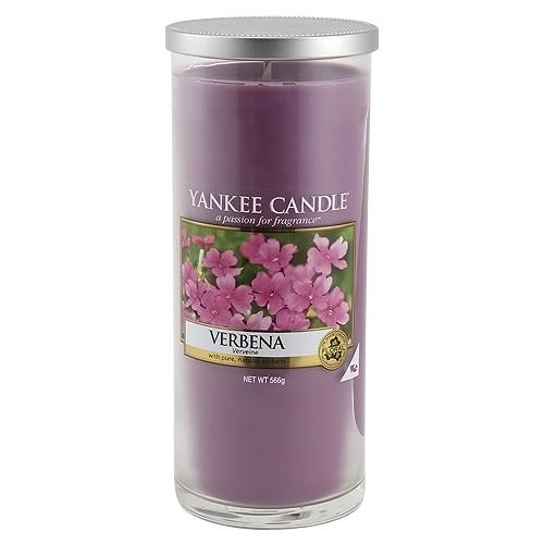 Svíčka ve skleněném válci Yankee Candle Verbena, 566 g