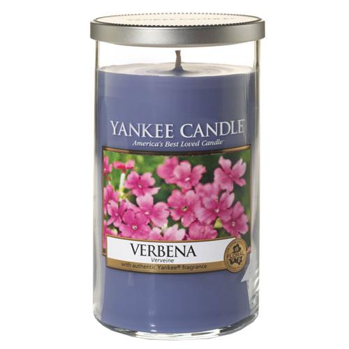 Svíčka ve skleněném válci Yankee Candle Verbena, 340 g