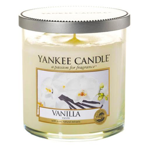 Svíčka ve skleněném válci Yankee Candle Vanilka, 198 g