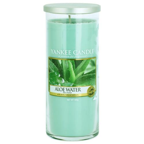 Svíčka ve skleněném válci Yankee Candle Voda s aloe, 566 g