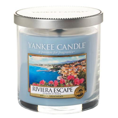 Svíčka ve skleněném válci Yankee Candle Hurá na riviéru, 198 g