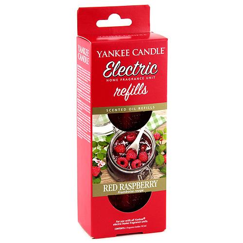 Náplně do osvěžovače Yankee Candle Červená malina, 2x18.5 ml
