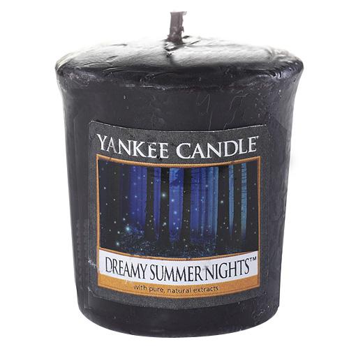 Svíčka Yankee Candle Zasněné letní noci, 49 g