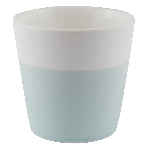 Svícen Yankee Candle Keramický, pastelová modrá, na votivní svíčku
