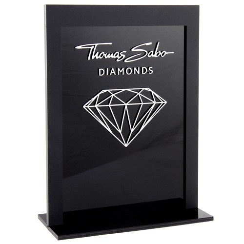 Thomas Sabo POS | Decoration | Diamond Display reklamní stojánek, rozměry: 20 x 7 x 25 cm