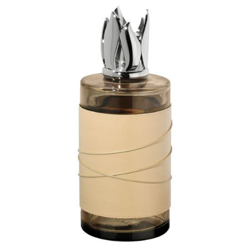 Katalytická lampa Lampe Berger Paris Strie Premium, hnědá, výška 20 cm