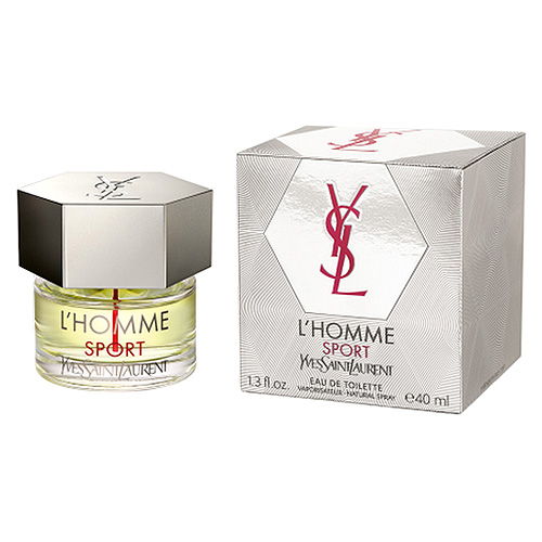Toaletní voda pro muže Yves Saint Laurent L'Homme Sport, 40 ml