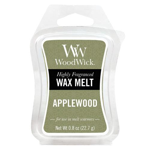 Vonný vosk WoodWick Jabloňové dřevo, 6 x 22.7 g