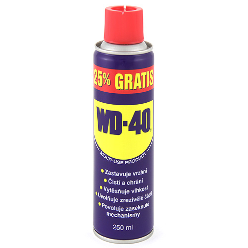 Univerzální mazivo WD WD-40, 250ml