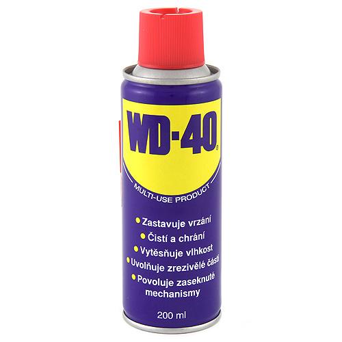 Univerzální mazivo WD WD-40, 200ml