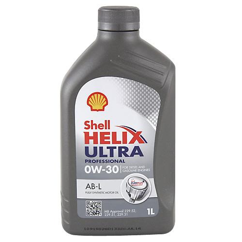 Motorový olej Shell Helix Ultra Professional 0W-30 1 L