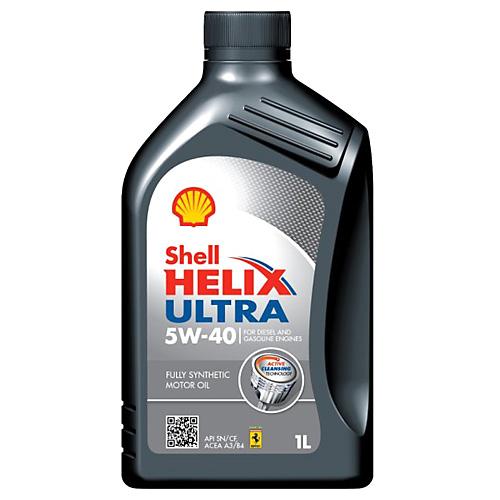 Motorový olej Shell Helix Ultra 5W-40 1 l