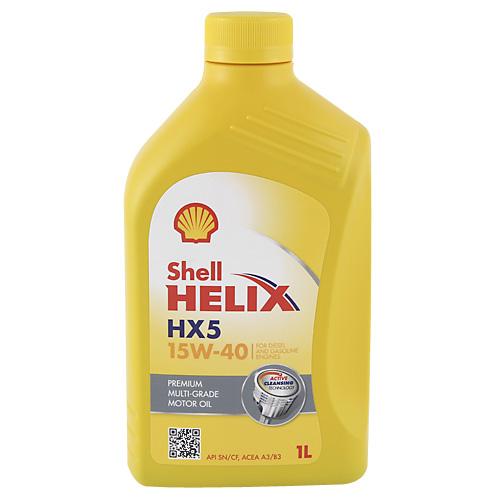 Motorový olej Shell Helix Super HX5 15W-40 1L
