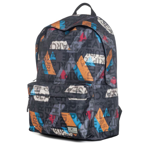 Rip Curl GEO PARTY DOME BACK PACK  | 100% POLYESTER  | BLACK  -  90 | 400 g | TU