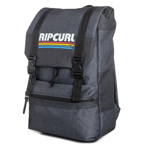 Rip Curl MODERN RETRO RUCKER BACK PACK  | 100% POLYESTER  | GREY  -  80 | 520 g | TU