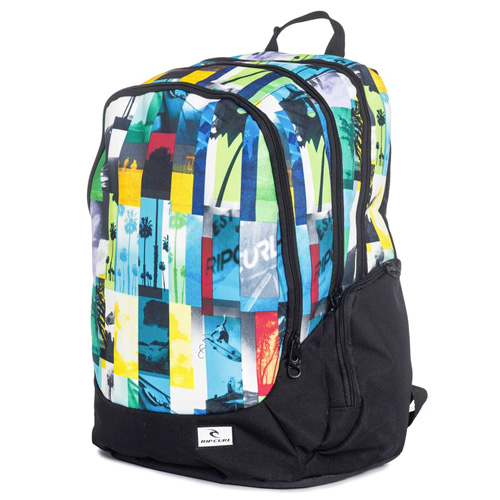 Rip Curl PHOTO VIBES TRISCHOOL BACK PACK  | 100% POLYESTER  | MULTICO  -  3282 | 600 g | TU